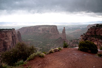 Colorado National Monument after rain