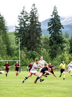 Comox Valley Kickers vs Outback Barbarians Rugby June 23 2016